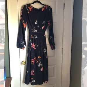 eShakti Floral Midi Dress